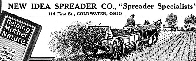 Horse Manure spreader photo by Don O'Brien on Flickr. Used under a Creative Commons license